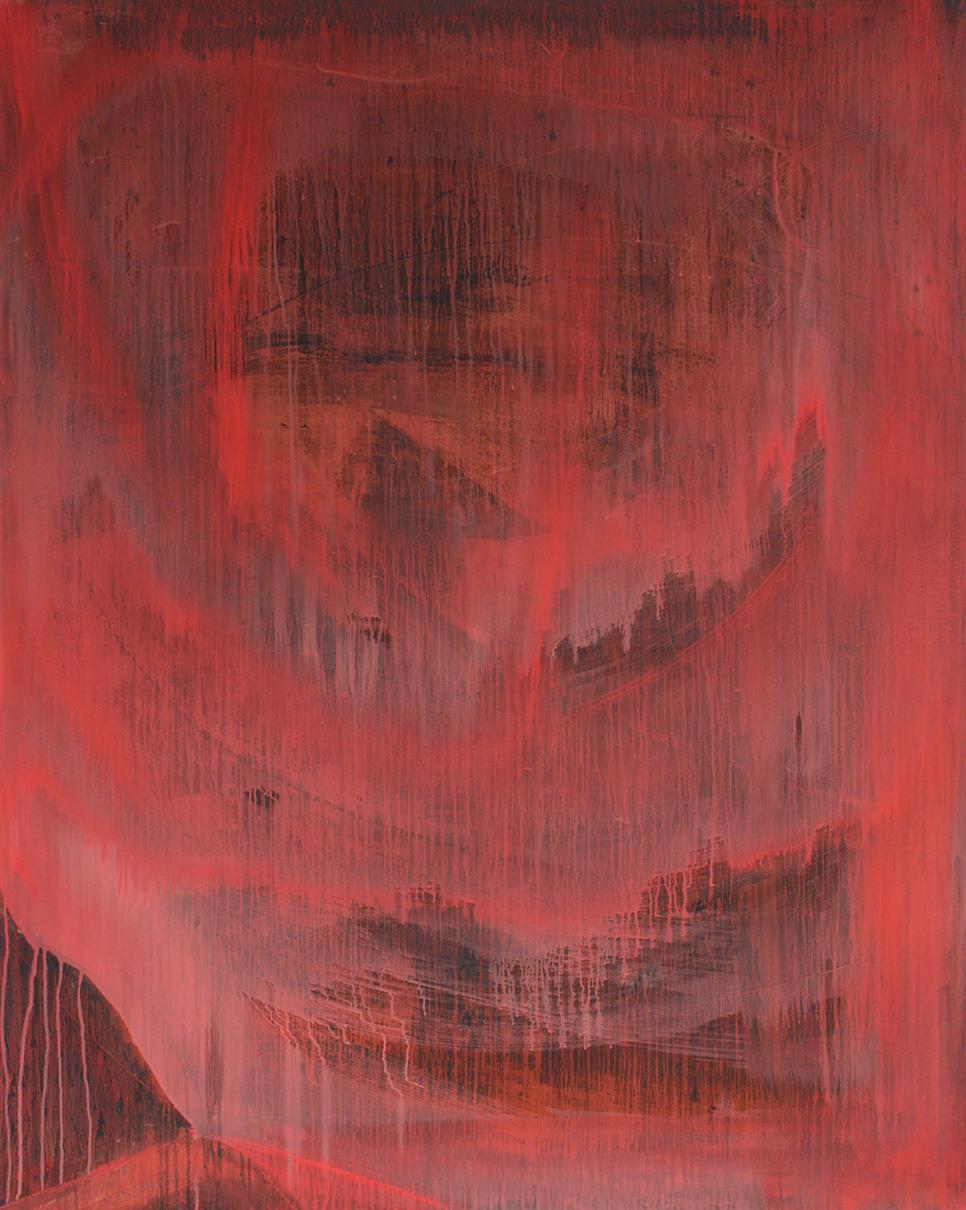 Burnout, 2019, oil on canvas, 150x120cm