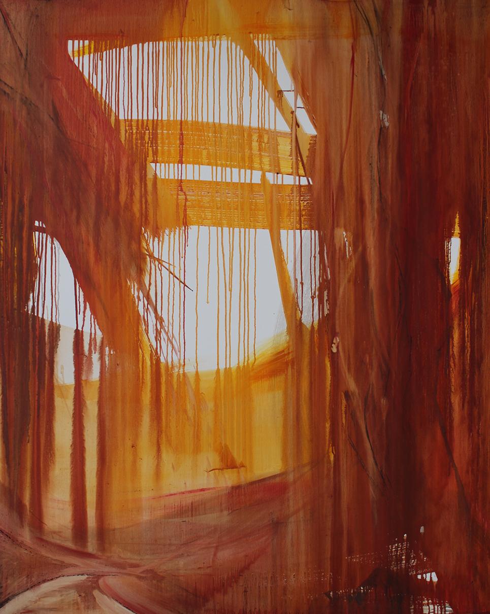 Encounter, 2019, oil on canvas, 150x120cm