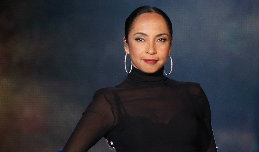 Sade on her world tour wearing her bespoke diamond hoops