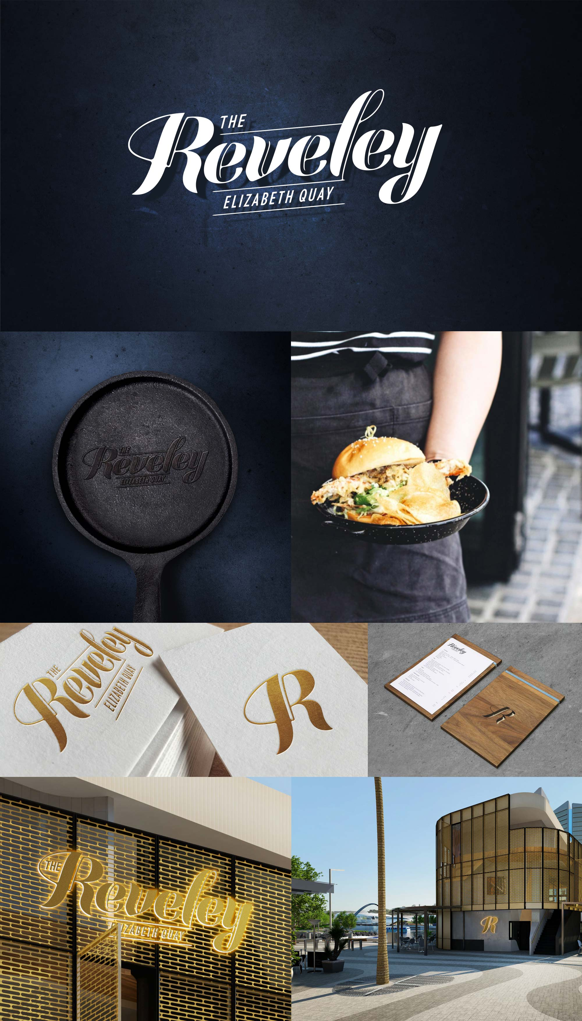 The Reveley, Elizabeth Quay – Branding and Design Collateral