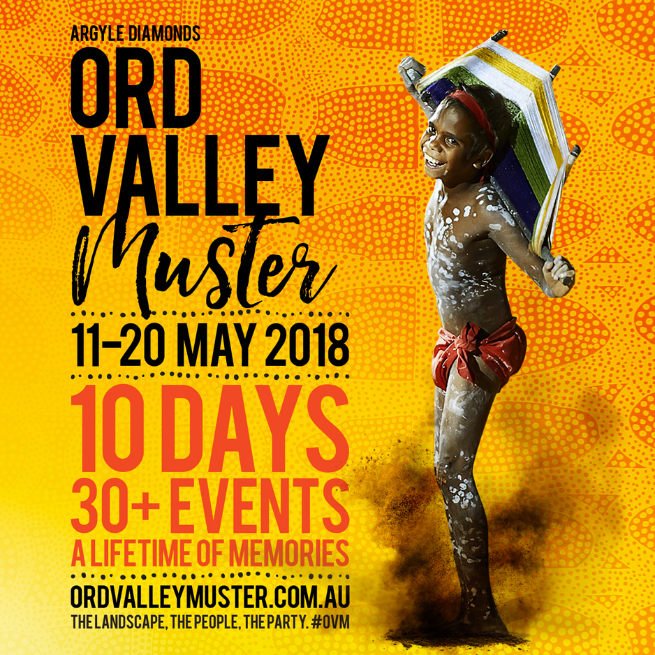 ORD VALLEY MUSTER REBRAND AND CAMPAIGN