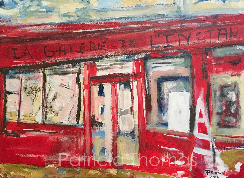 """La Galerie de l'Instant  24 x 18"""""""