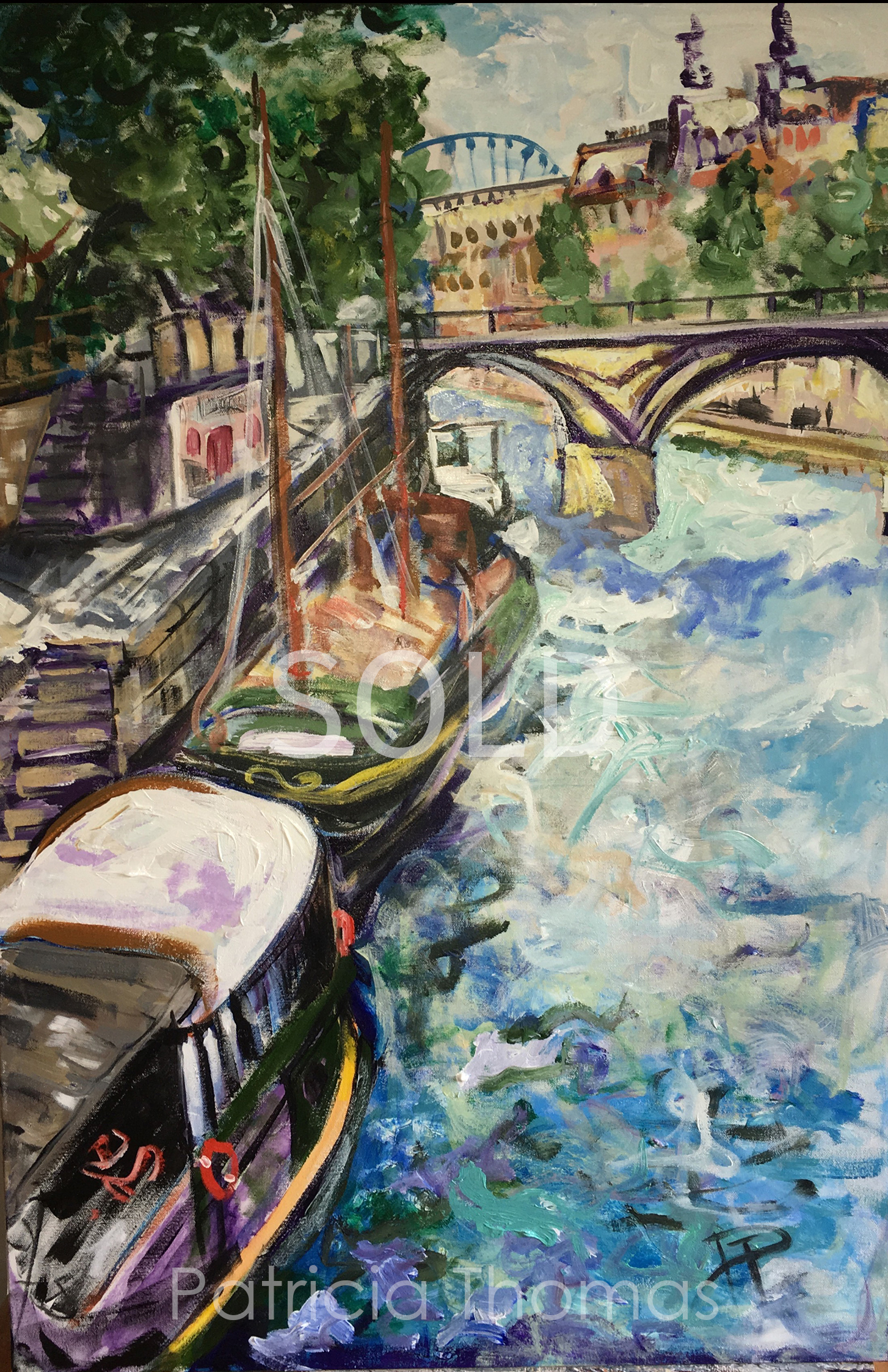 Boats on the Seine - SOLD.jpg