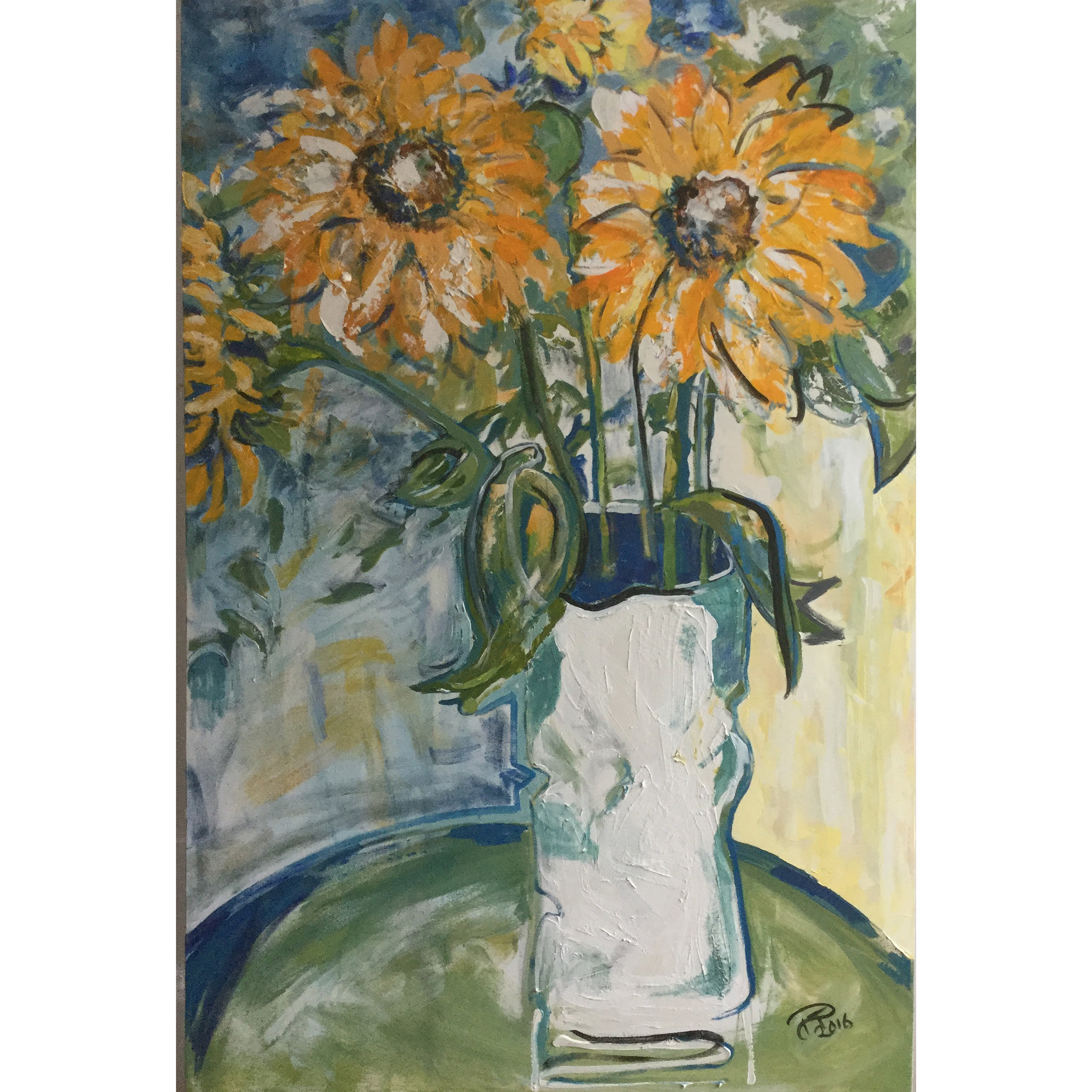 Sunflowers in Crooked Vase2.jpg