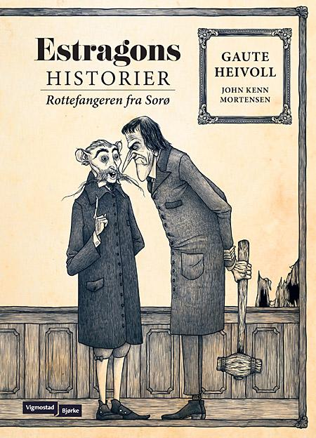 Mørkt og mesterlig: Rottefangeren fra Sorø  er Gaute Heivolls første bok i serien  Estragons historier  – et makabert mesterstykke fra en av våre mest profilerte samtidsforfattere.  Les mer