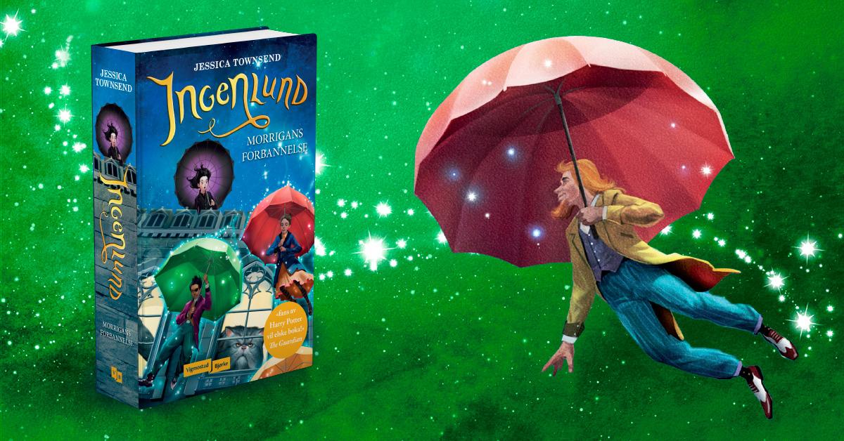 Ingenlund - Morrigans forbannelse (oversatt av Kirsti Vogt) er første bok i Jessica Townsends nye fantasyserie. Den er solgt til 25 land og 20th Century Fox har sikret seg filmrettighetene.  Les mer
