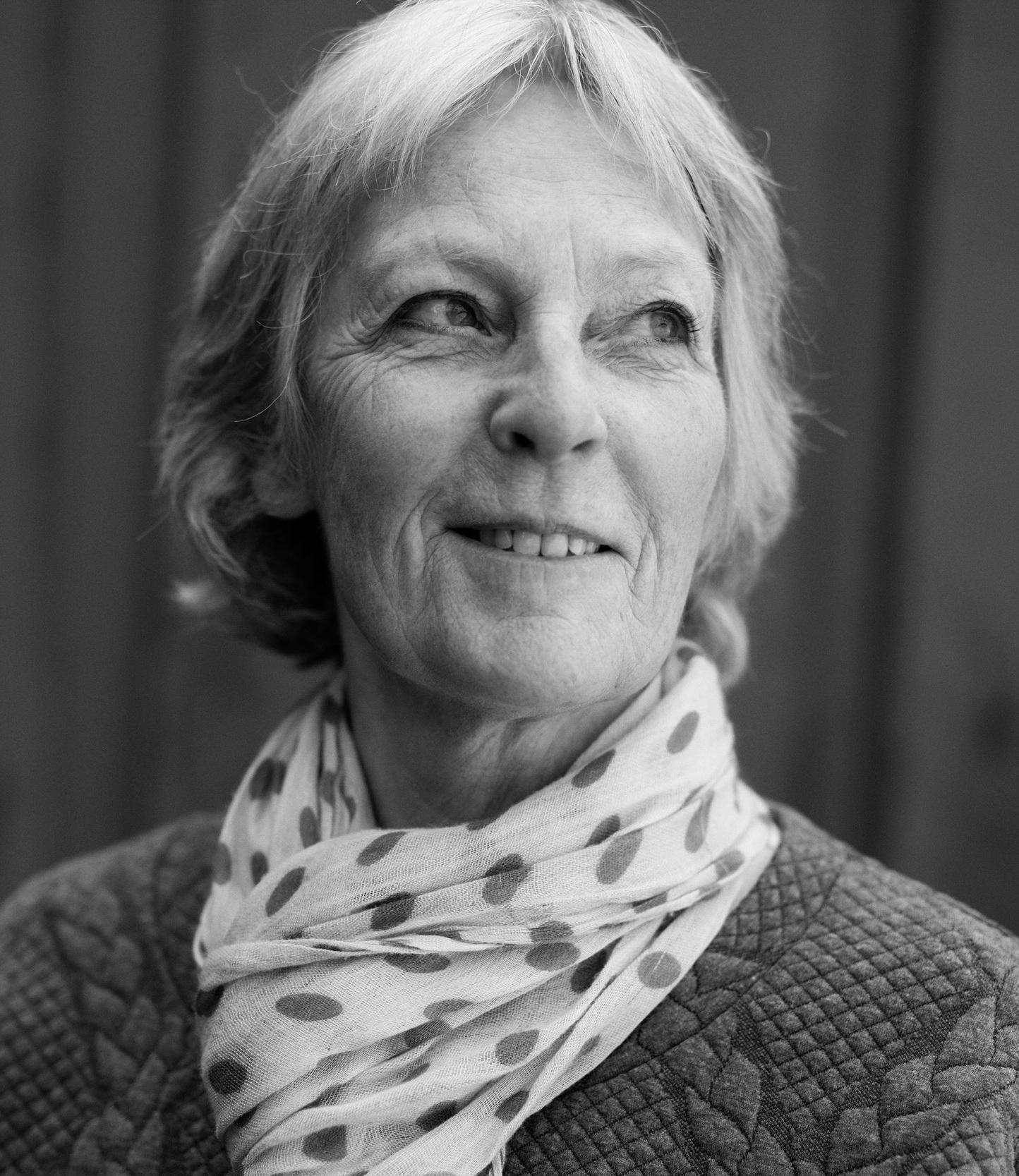 Laila Brenden har solgt over en million bøker og er nå aktuell med romanen  Toner fra en stille skog . Foto: Eigil Korsager.