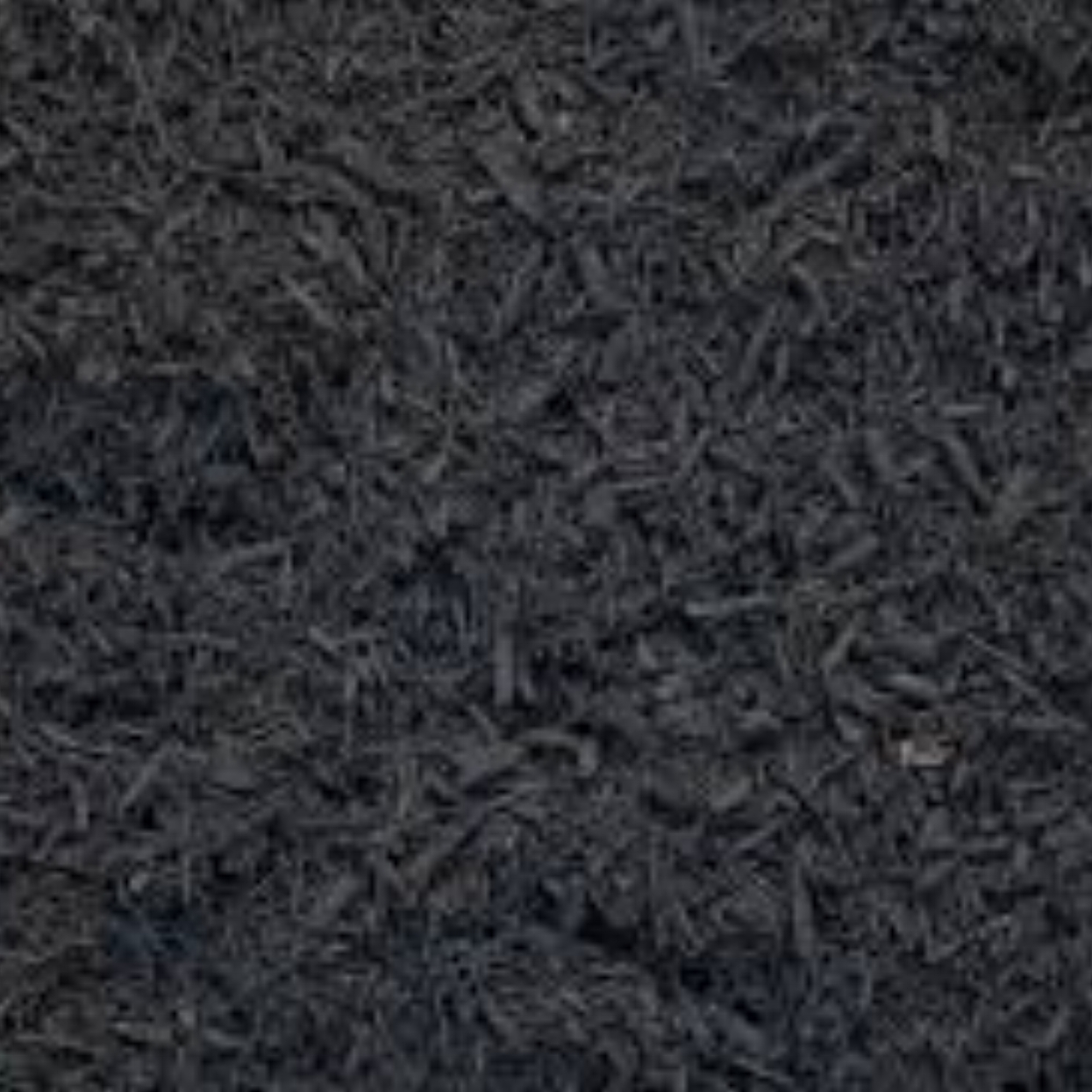 Black Mulch: $35.00 Yard Adds a distinctive design element to your landscaping ! (Black is not organic) -