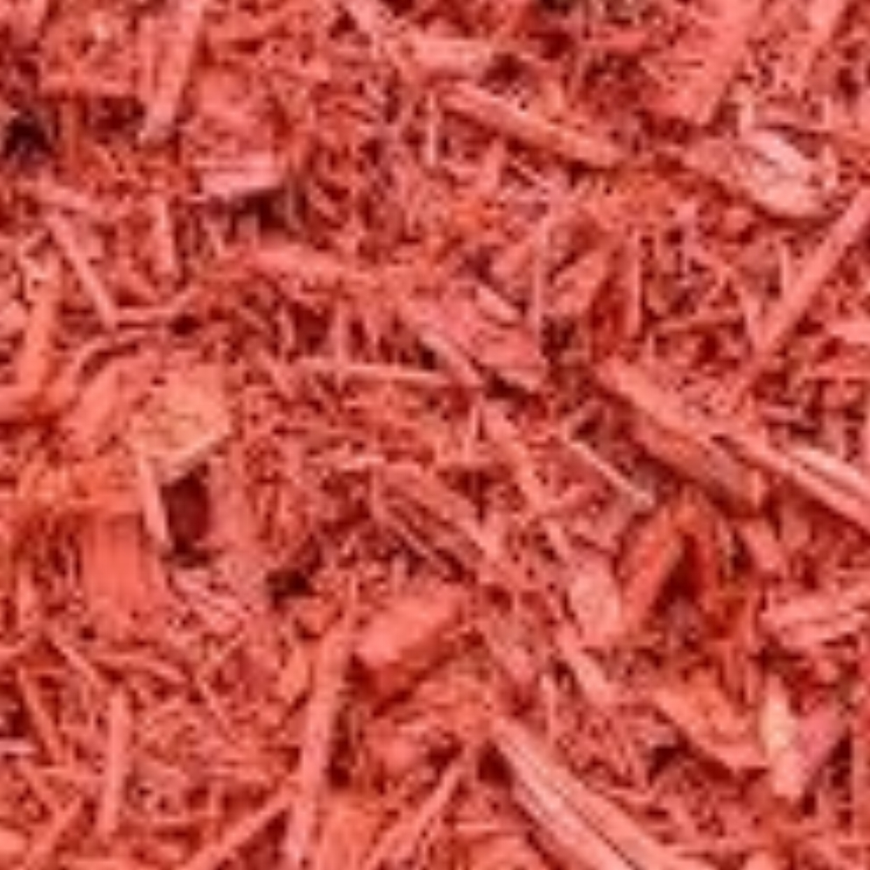 Red Mulch: $35.00 YardAdds a distinctive design element to your landscaping !(Red is not organic) -