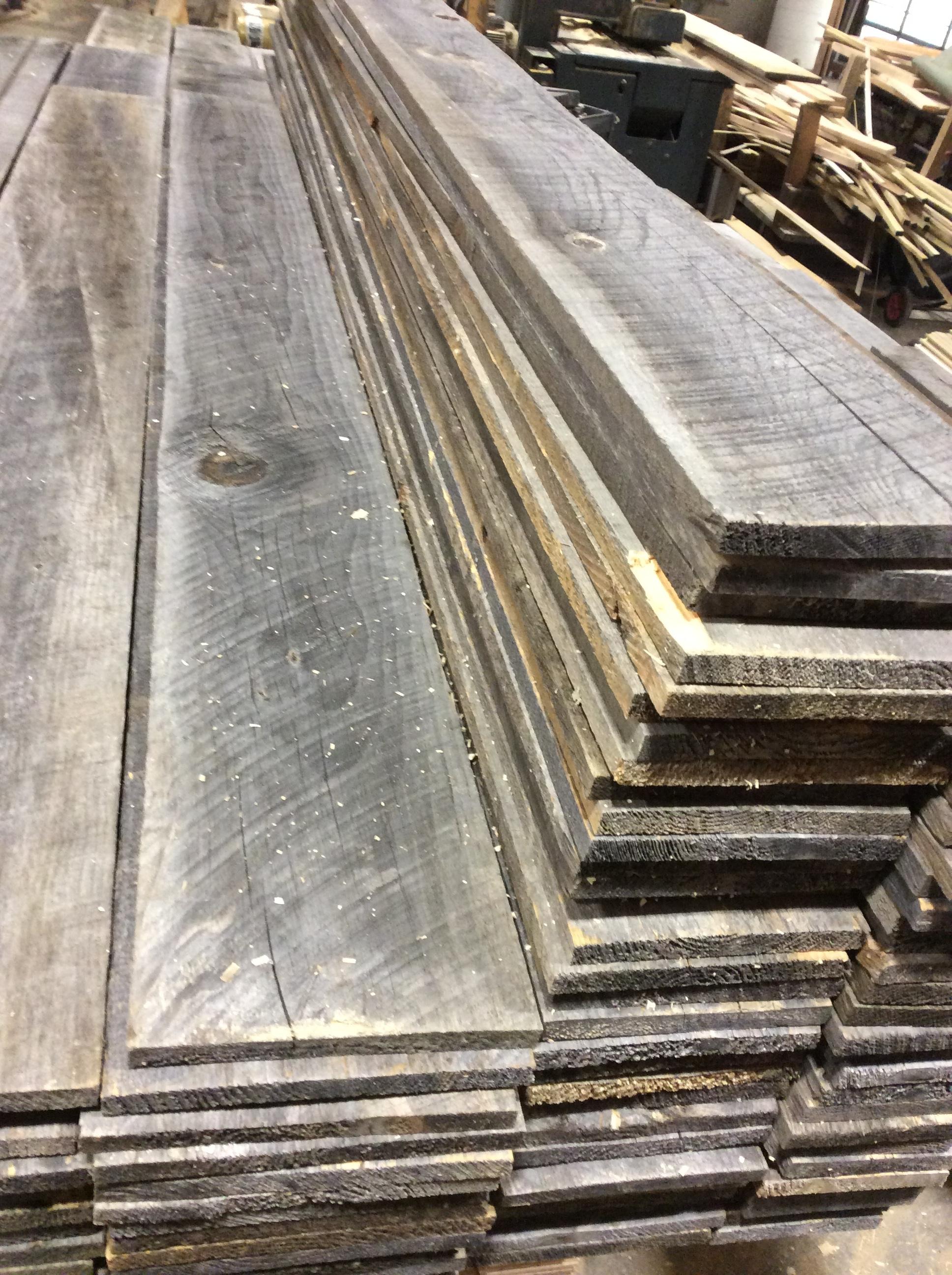 Barn Board Stock Pile