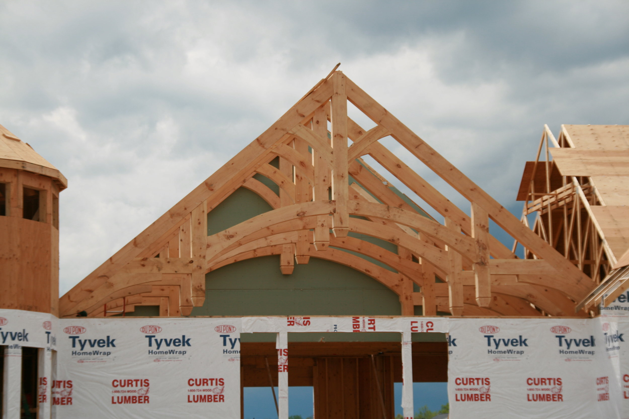 Custom Exposed Trusses, Courtesy of Minbiole Timber and Beams.JPG