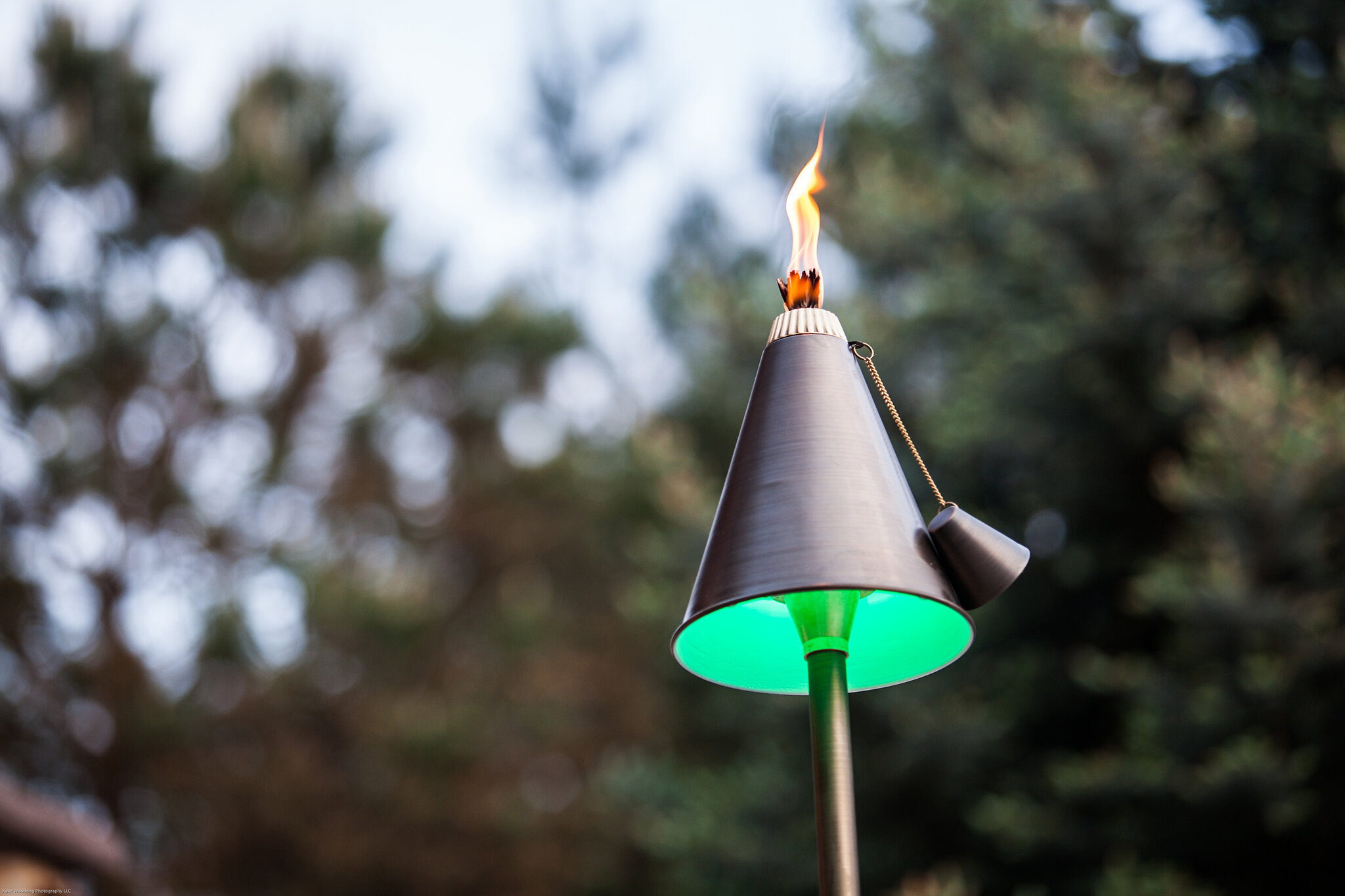 Haven Home Lighting fixture with tiki torch