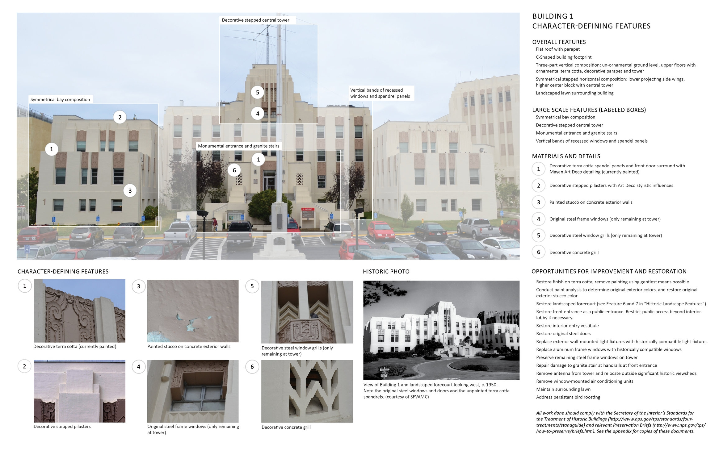 Design guidelines for San Francisco VA Medical Center