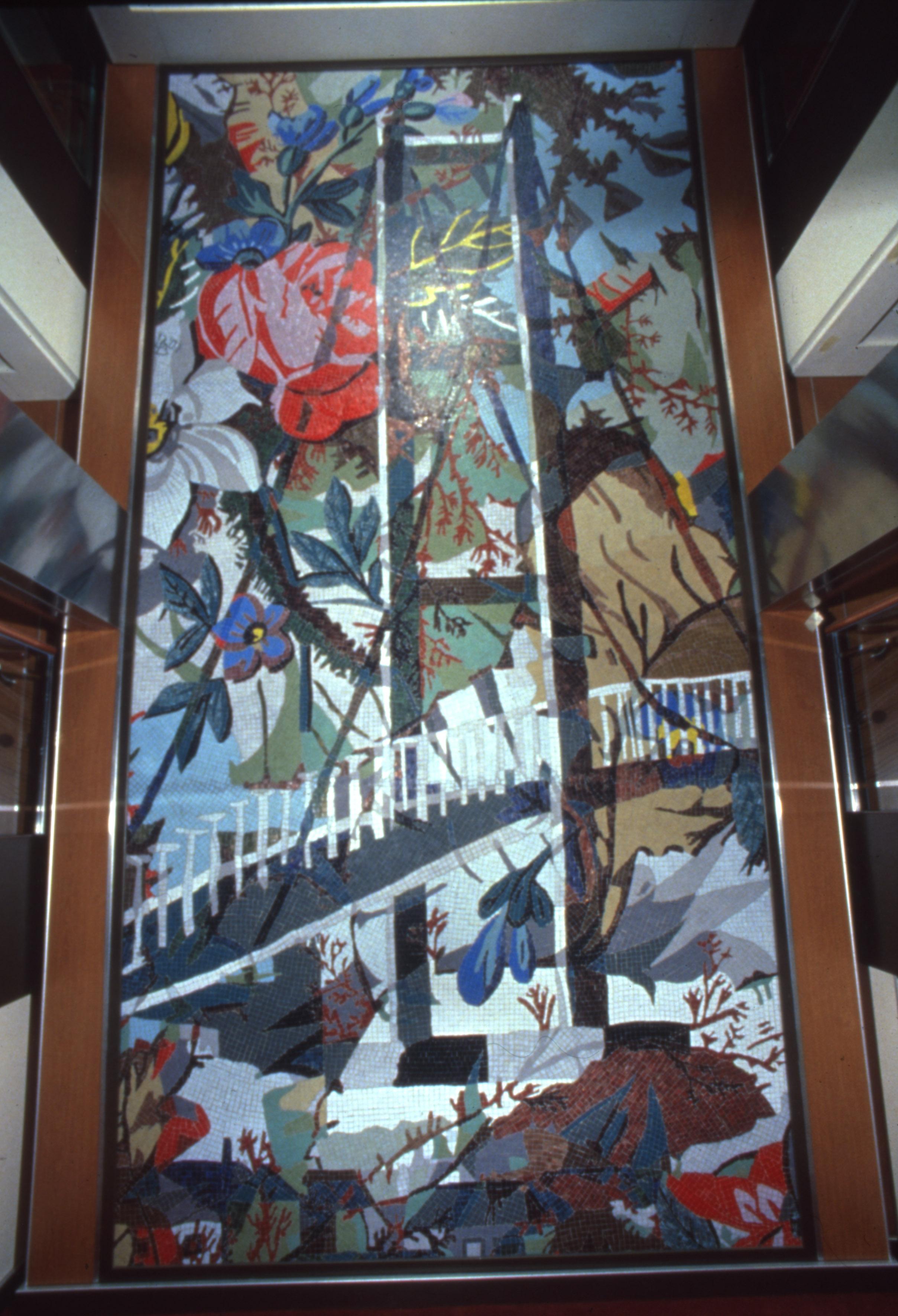Mosaic wall Pride of Hull, 560 x 275 cm