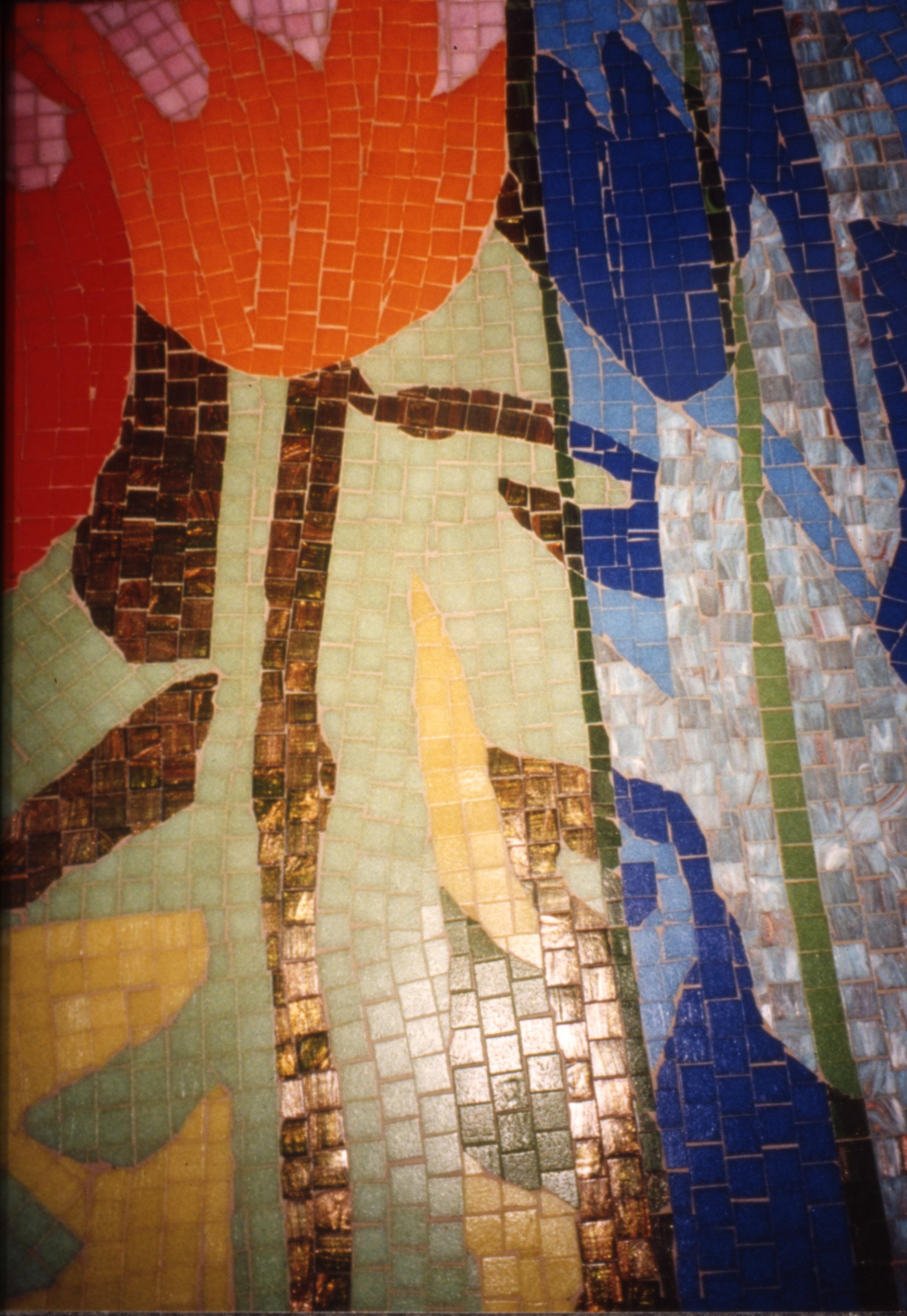 Masaic wall Pride of Rotterdam, detail