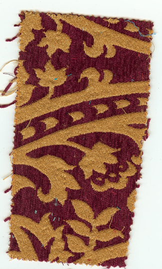 Sample serving as the inspiration for the kelim, textile