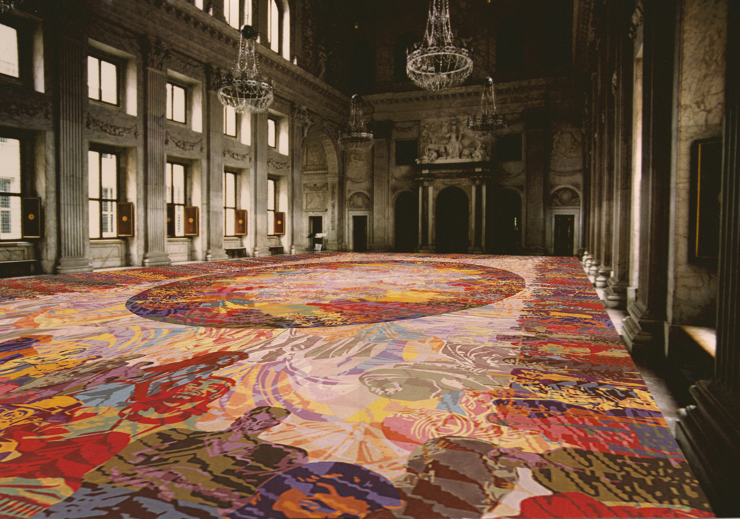 Artist impression carpet for the Citizen Hall