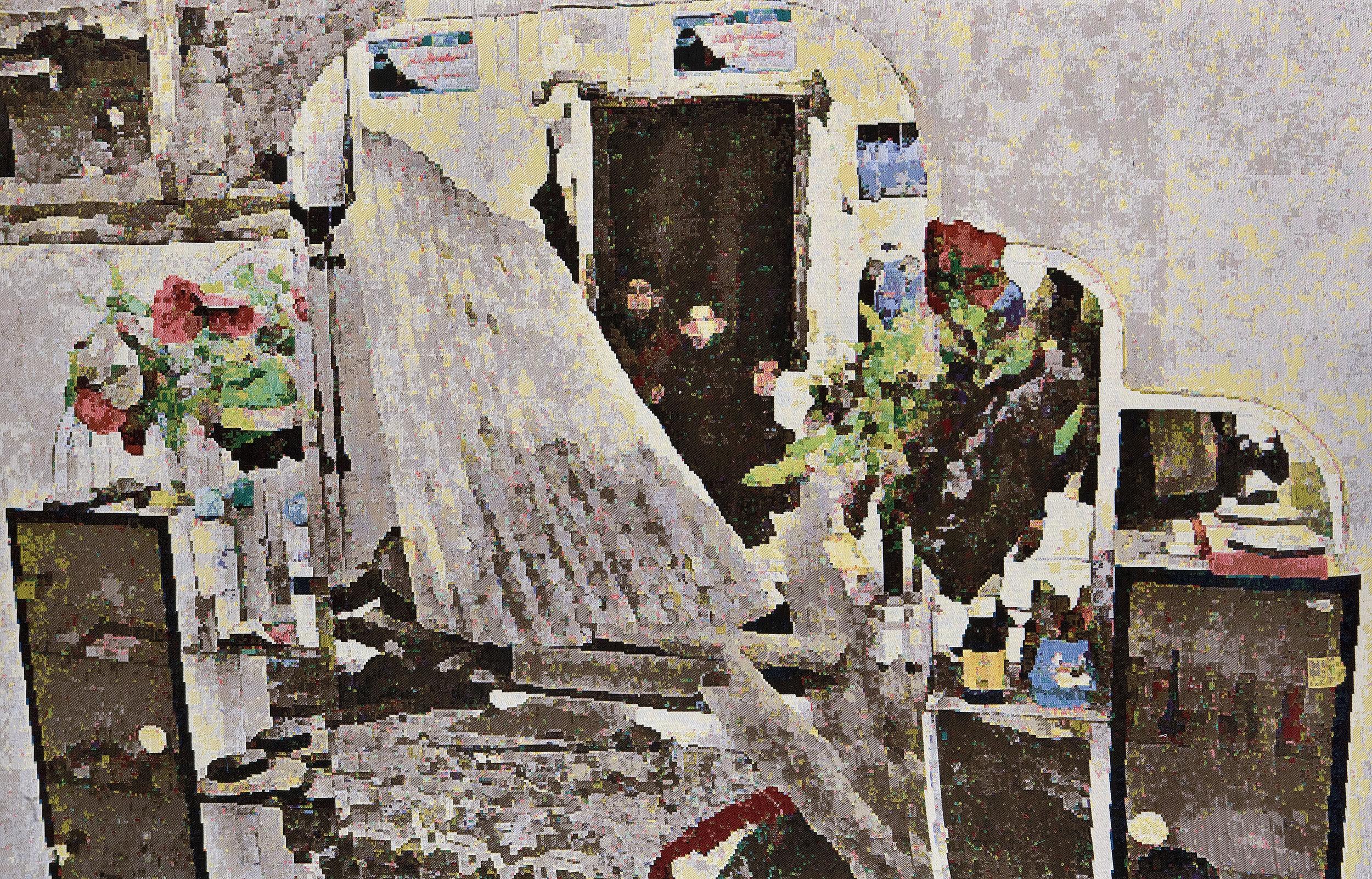 Faith 2009: Gaza I, Jacquard woven, 149 x 231 cm