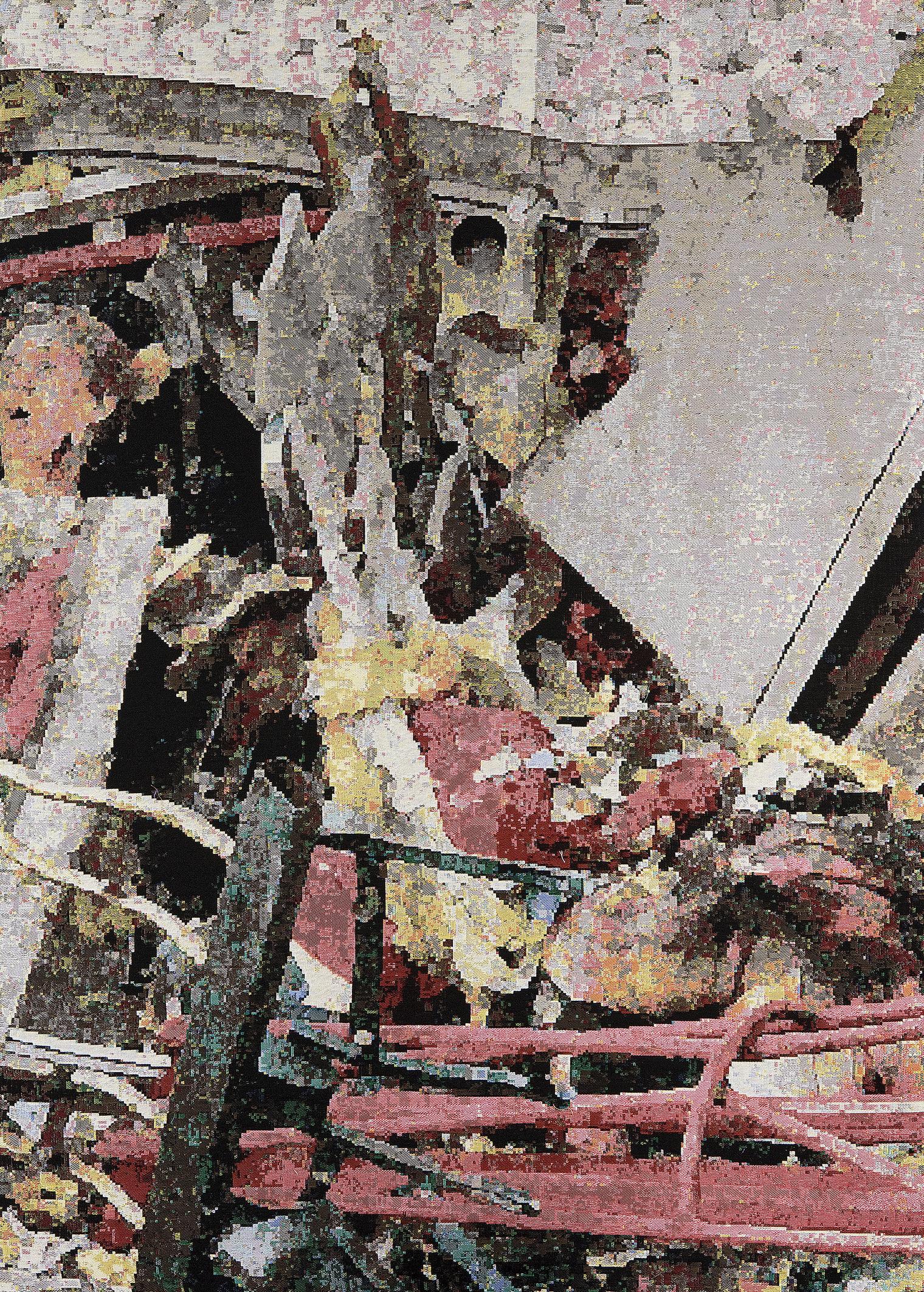 Faith 2009: Madrid, Jacquard woven, 206 x 149 cm