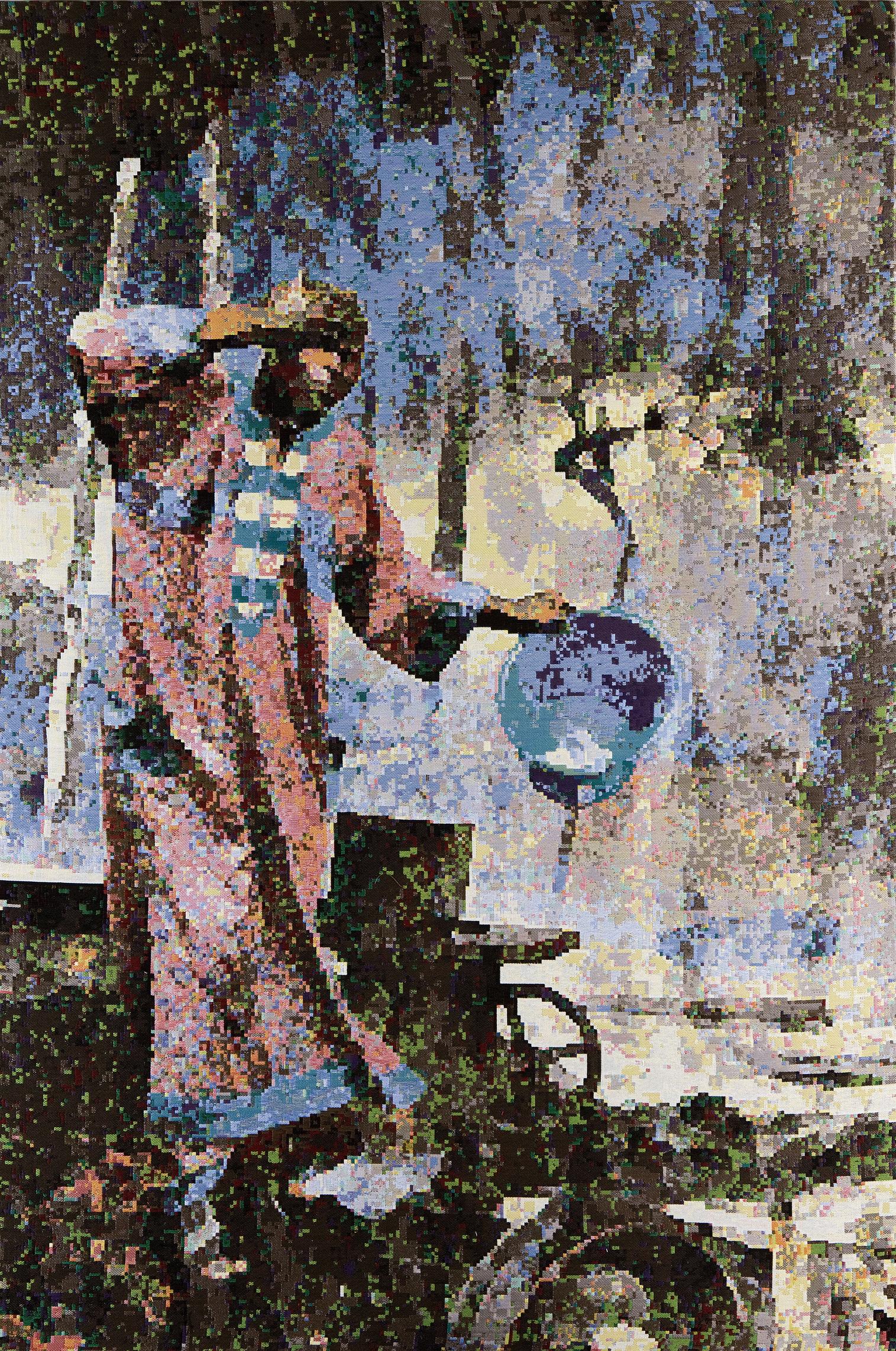 Faith 2009: Nigeria, Jacquard woven, 217 x 149 cm