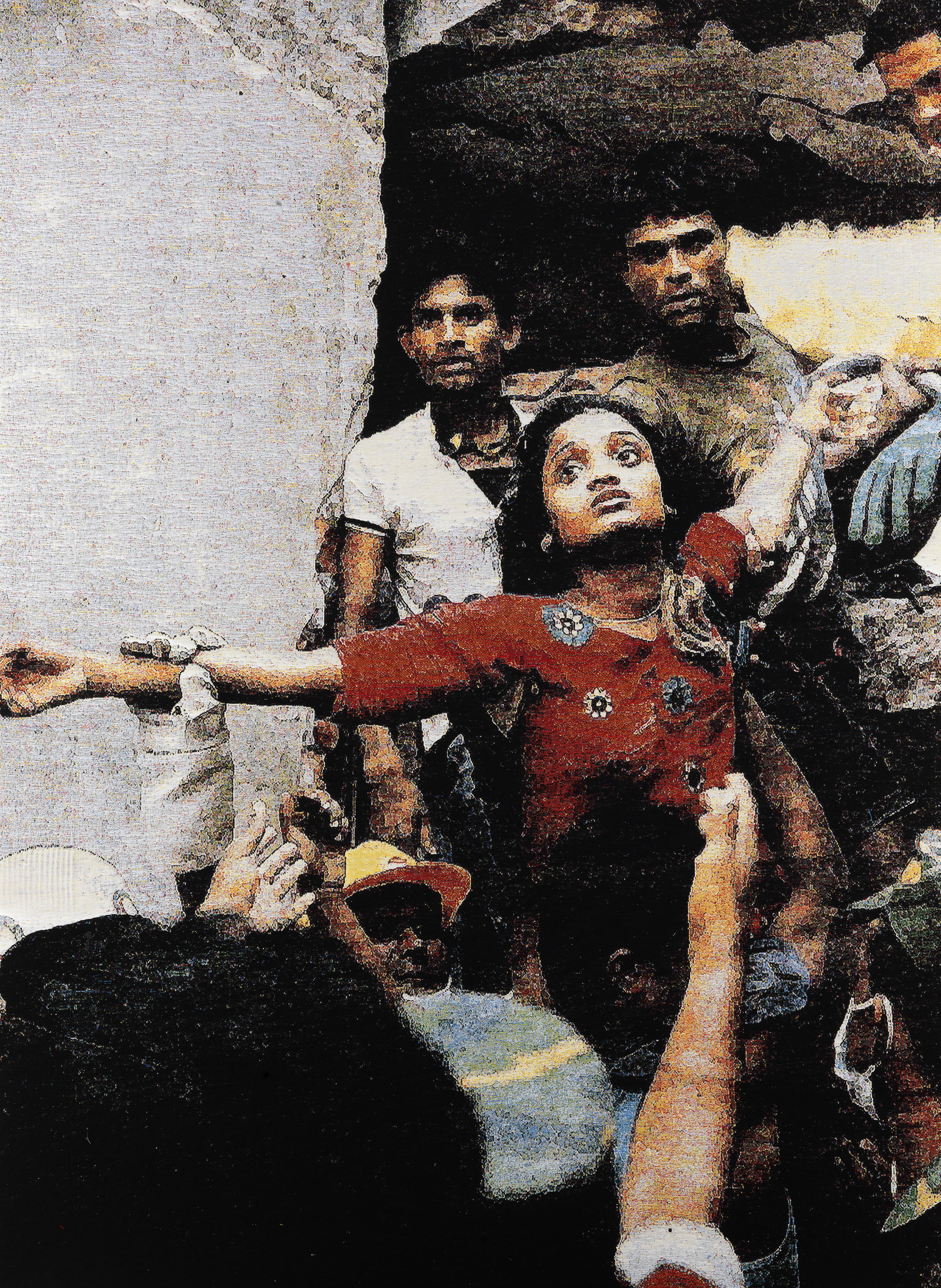 Faith 2014: Bangladesh, Jacquard woven, 205 x 148 cm