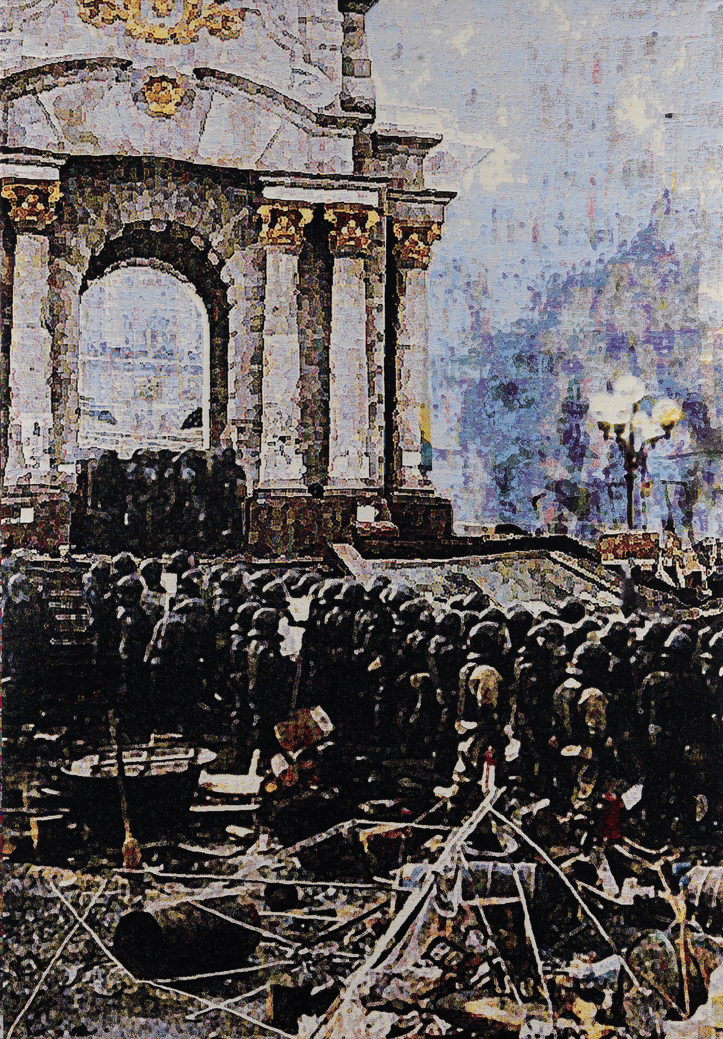 Faith 2014: Kiev, Jacquard woven, 205 x 148 cm