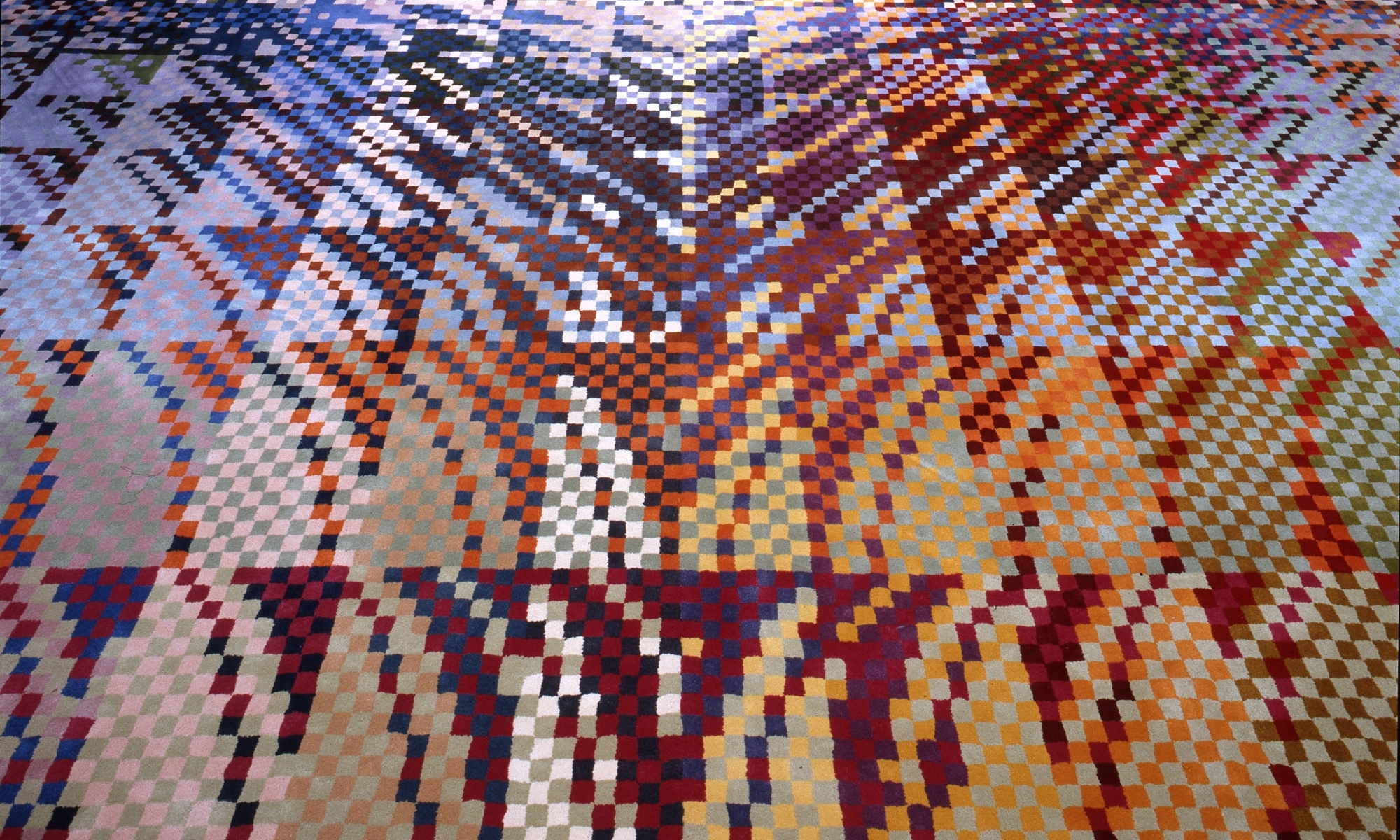 Carpet designed for the ministry of social services, detail