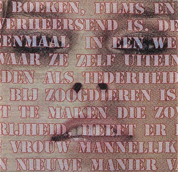 Open Mouths no. 7, 100 x 100 cm