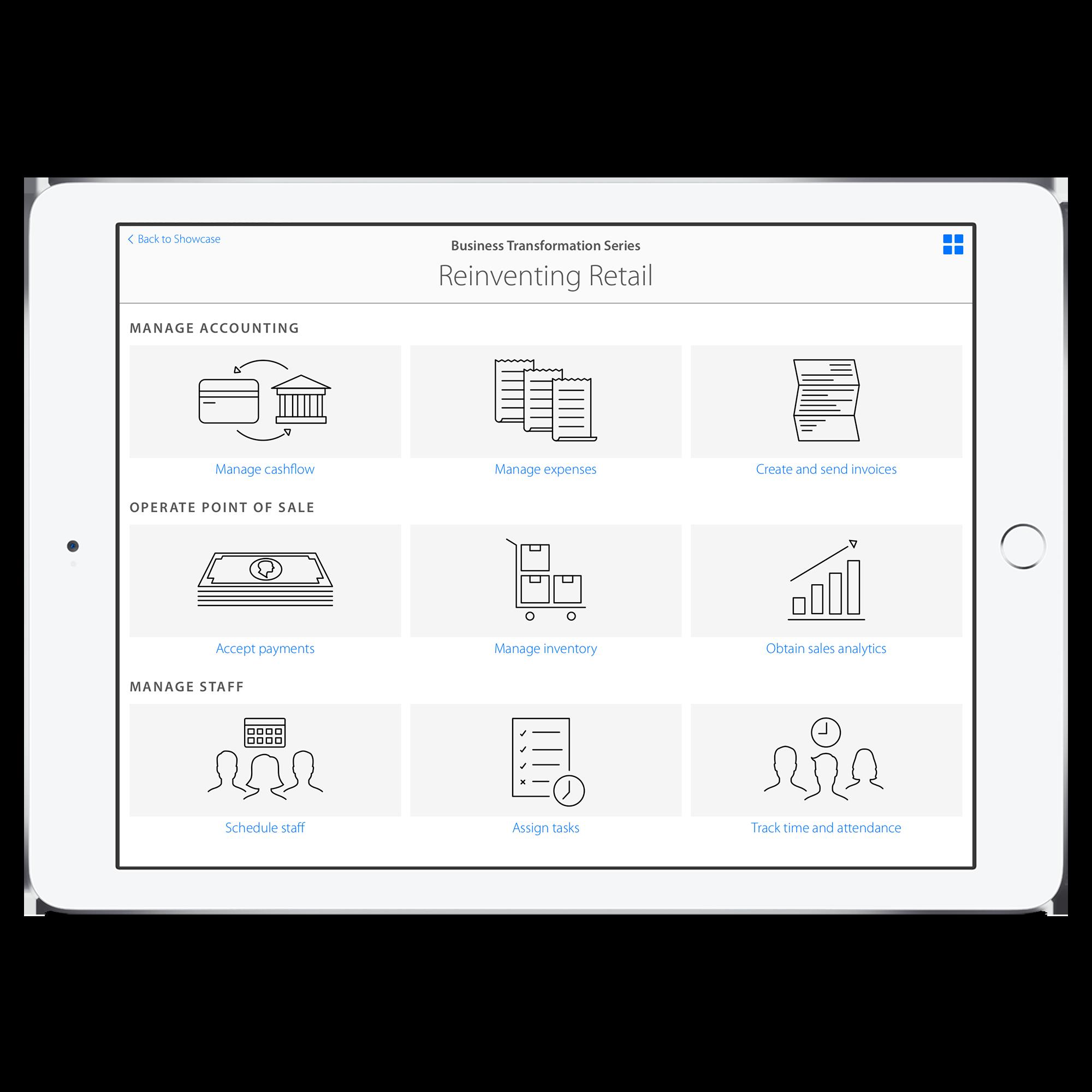 Showcase,Business Transformation Series- Reinventing Retail Episode (grid view)