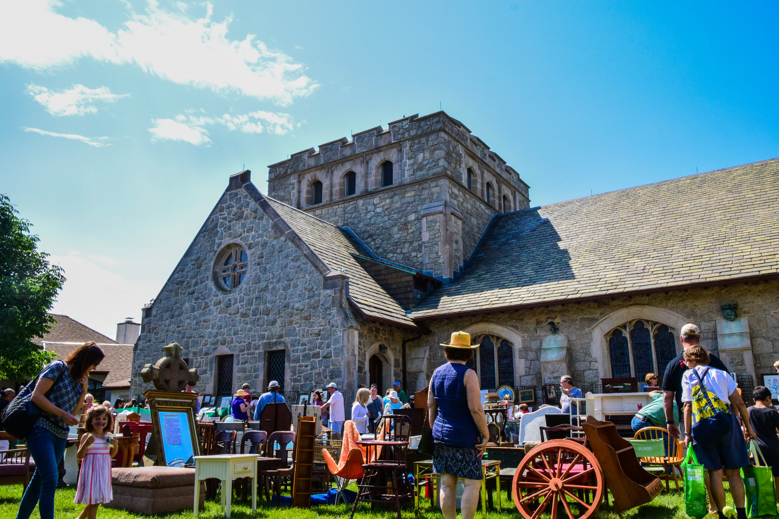Photography for St. George's by-the-River Episcopal Church Canterbury Fair 2017