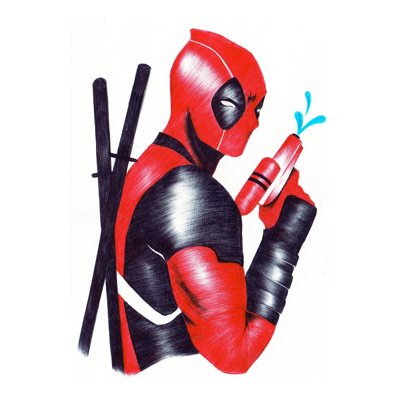Marvel Deadpool Fanart