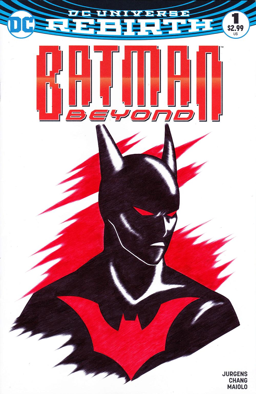 Batman Beyond Blank Variant
