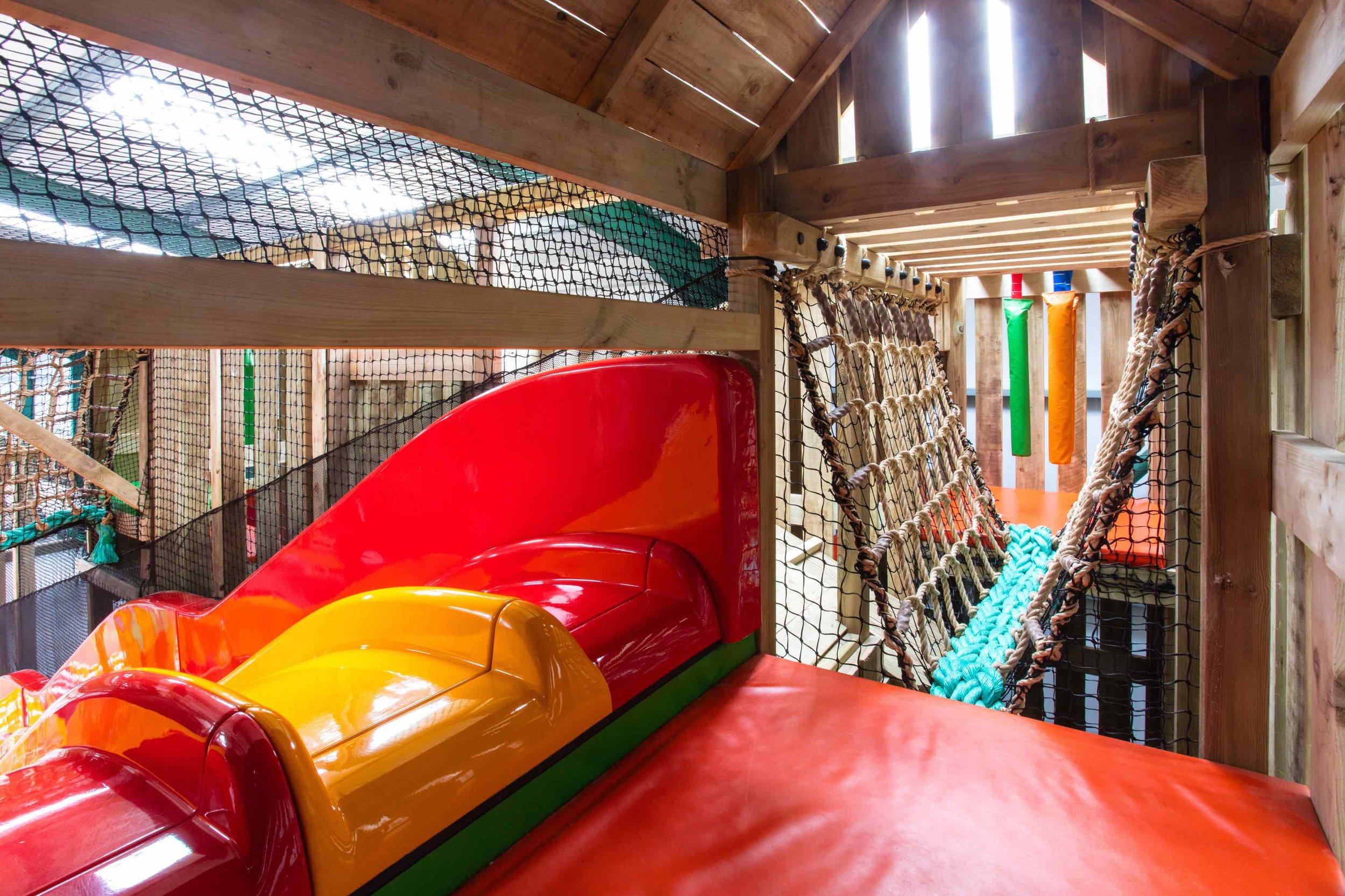 Tigerplay Roves Farm slide and rope bridge.jpg