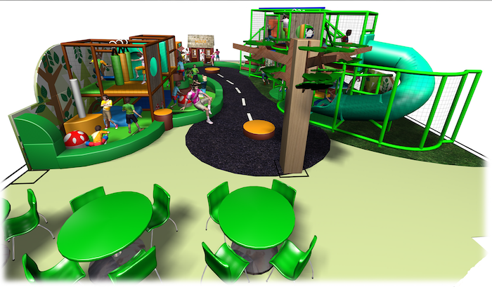 The Dragonflies play centre design.