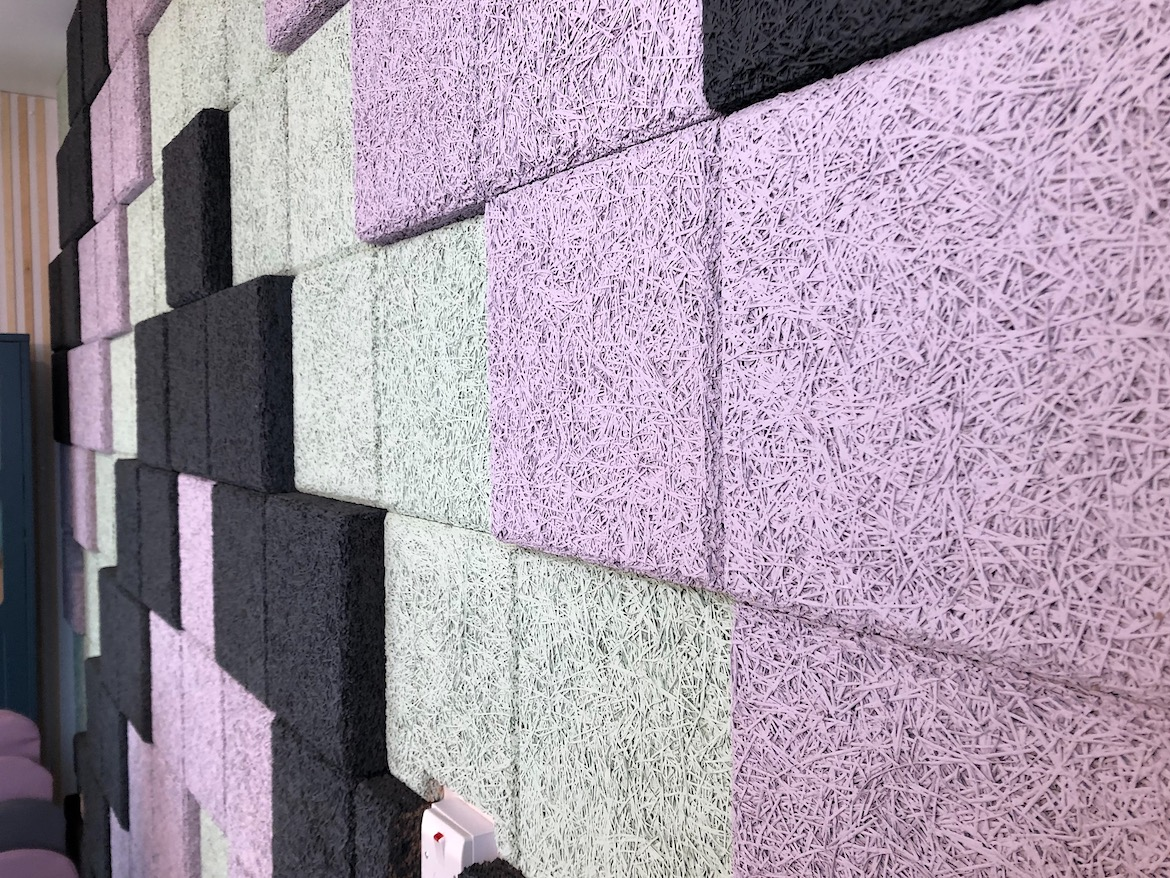BAUX acoustic wall tiles