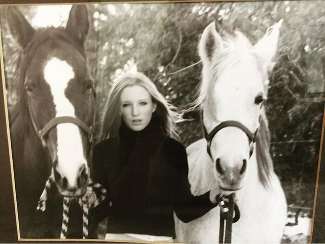 Thanks for the photo of a photo, Mum. My favorite beings and I modeling for Ralph Lauren (in our dreams)! I'm posting this image because today I am nostalgic, today I miss the unconditional love of these animals, I miss the majestic force that their wild energy has on me. I miss being completely vulnerable around something so big and powerful. I'm missing the ignorant bliss of being around horses all the time and not having to think about being responsible, paying rent on time, looking for an apartment in Nyc, being present, making a good impression, making good decisions, dressing cool enough, being funny enough, yada yada... There is a lot of loss and pain going on in the world today, but at least there is always sweet contrast. I have to say that these past few years of moving through adversity and allowing myself to be vulnerable in the beast that is NYC has opened me up to a whole new level of consciousness. I know who I am, I know where the wildness of these horses lie within me and I know my true power. It is not in these external things, but it's in the core of choosing to be strong and to persevere- even when things feel heavy and lonely and scary and abominable! I can choose fear or I can choose strength and love. I know I'm never really alone. I have learned to ask for help and it is in others that I am able to keep growing. I am sober, I am honest, I am loving and I am accepting. I just had to publicly post this 🙌🏼