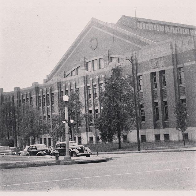 Armory circa 1938 #TBT