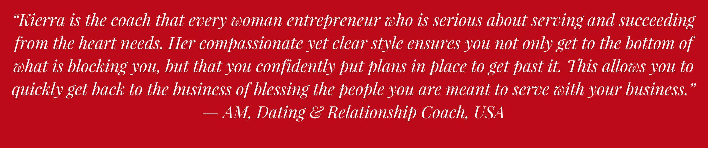 Customer Love for Visibility Empowerment Coach & Shine Strategist