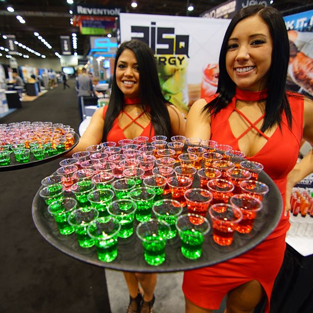 5hour energy? More like 50 hours of energy! Tag a buddy who would drink ALL OF THESE. #PartyWithUs #RISQenergy #ncbshow17 #ncbshow2017 #ncbshow
