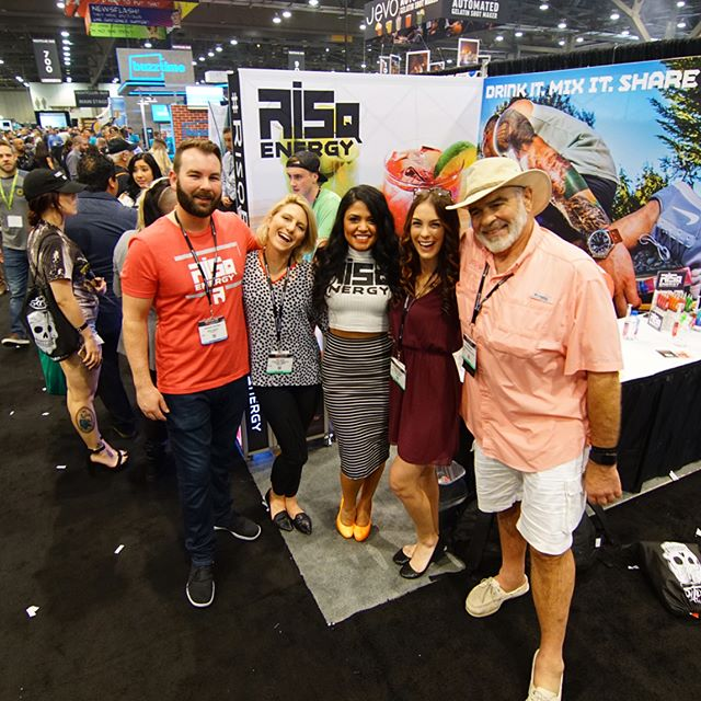 Just a handful of all the awesome people we met last week in Vegas. #PartyWithUs #ncbshow17