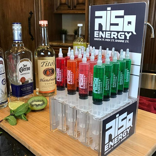 This is how we set up for Friday Night!! You ready to take a RISQ??#partywithus