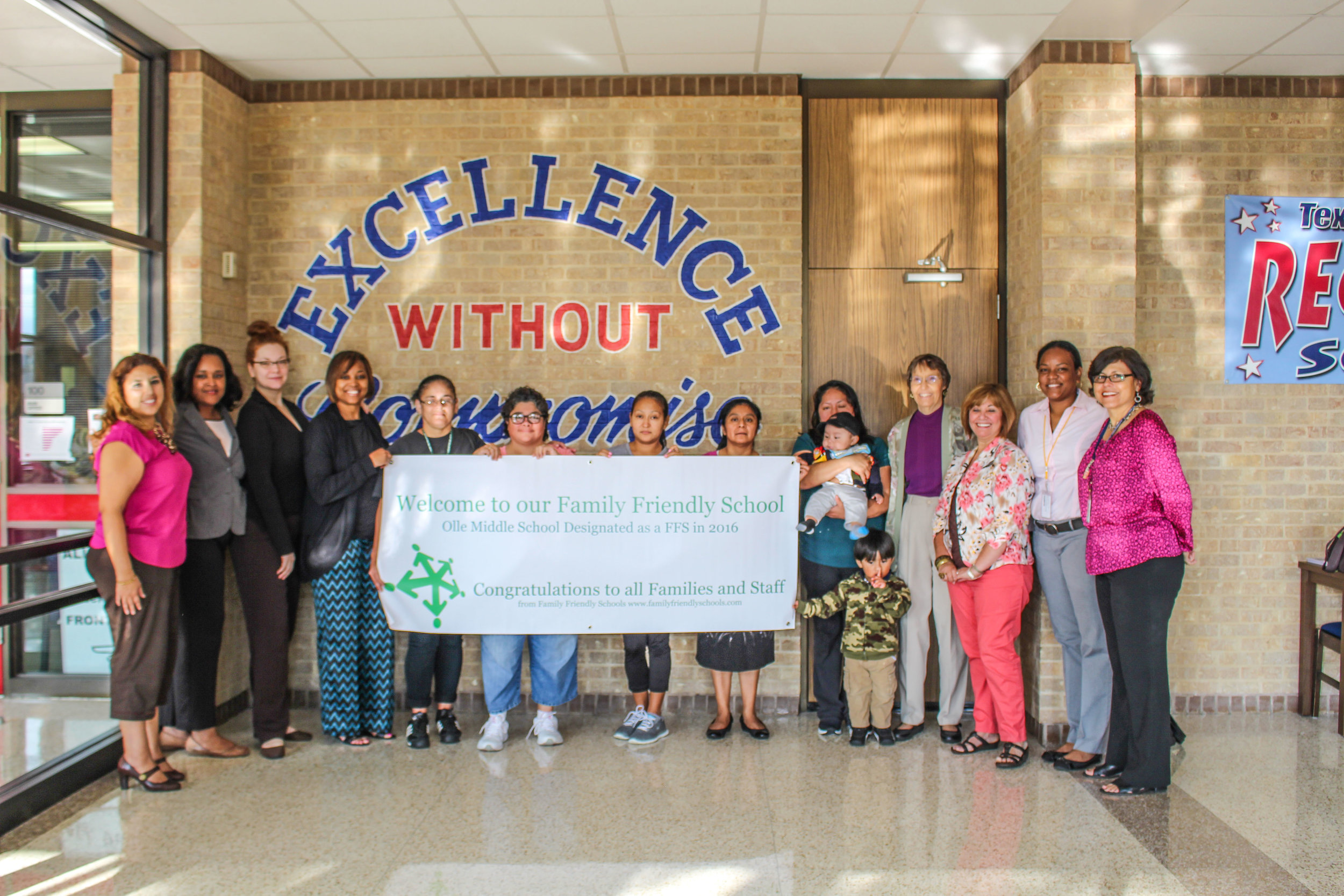 Ollie Middle School's Family Engagement Team, Alief ISD, Houston, TX