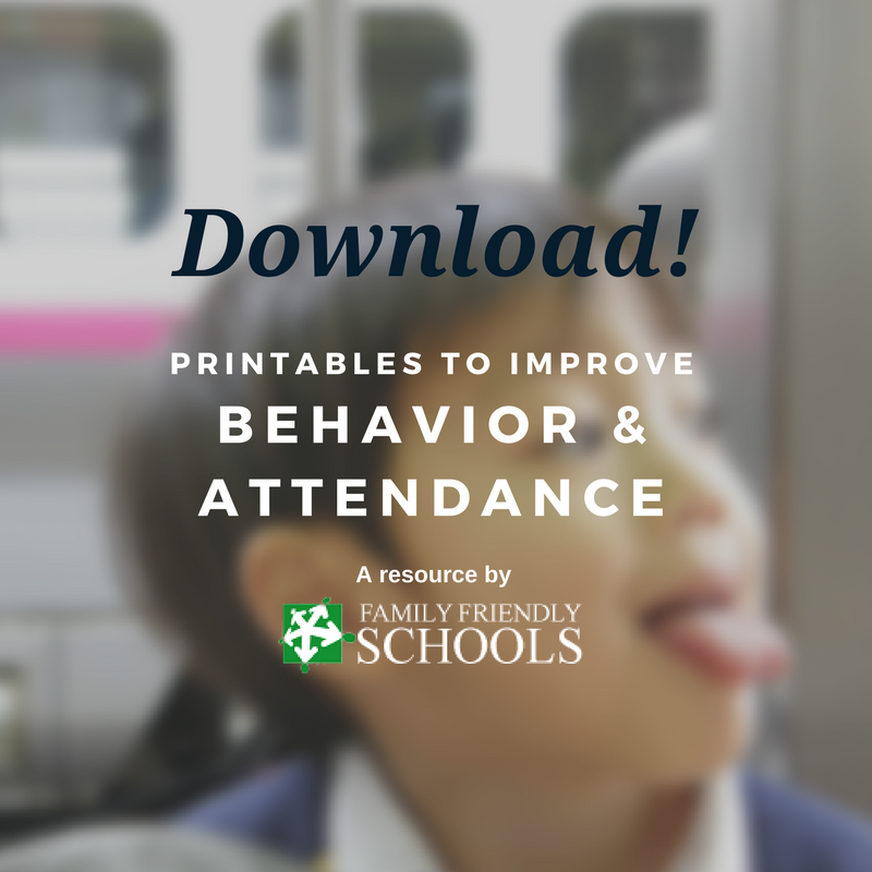 improve behavior & attendance at school