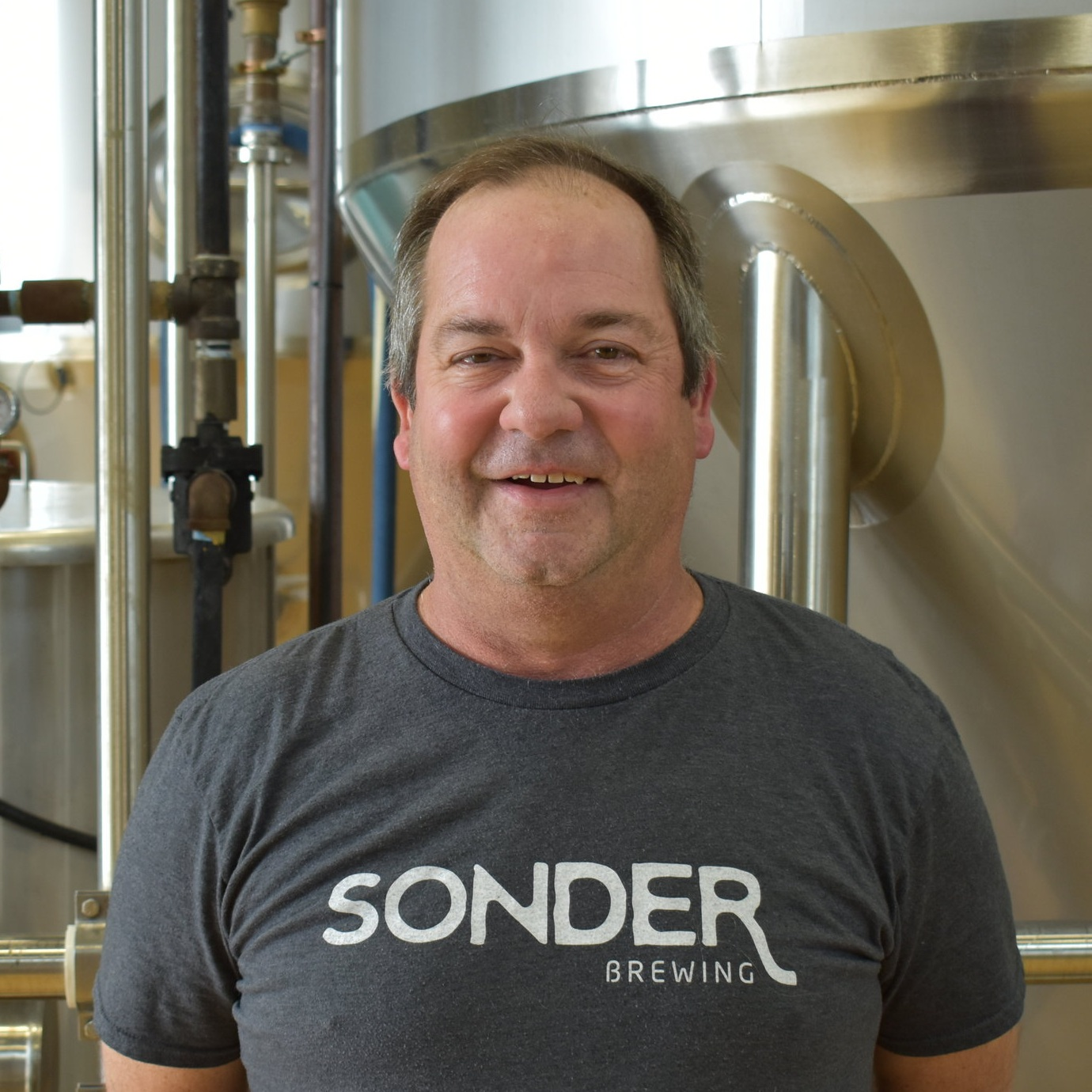 Mark - Bartender   Mark loves spending time with his family, playing golf, and enjoying some brews. The top item on his bucket list is playing Augusta National golf course, so hopefully he hits golf balls straight. He loves working at Sonder because he's able to recommend beer to consumers based on what they describe is their ideal style. His favorite style of beer is IPAs, and his favorite Sonder beer is You Betcha!