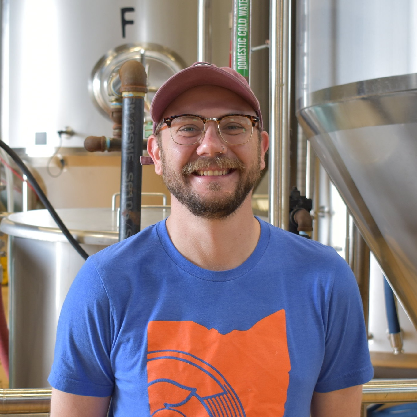 Ross - Shift Lead   Ross spends his free time traveling, visiting amusement parks, and playing both golf and disc golf. In another life he claims to have been a meerkat, which would be a pretty cool animal to be. He got his start in craft beer working in OTR in the mid 2000s when that area started to blow up with craft beer. He loves Belgian style beers, specifically Belgian tripels, and at Sonder he loves drinking Blanc