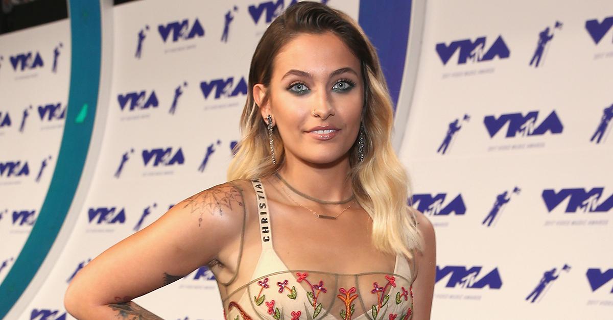 Paris Jackson 2107 VMAs; Getty Images
