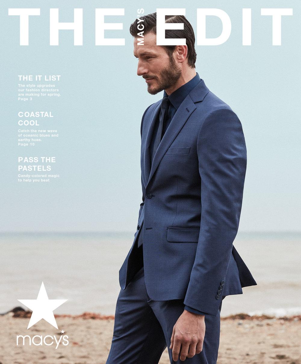 Macy's Men's Fashion Book Spring 2019 — Dan Pasky