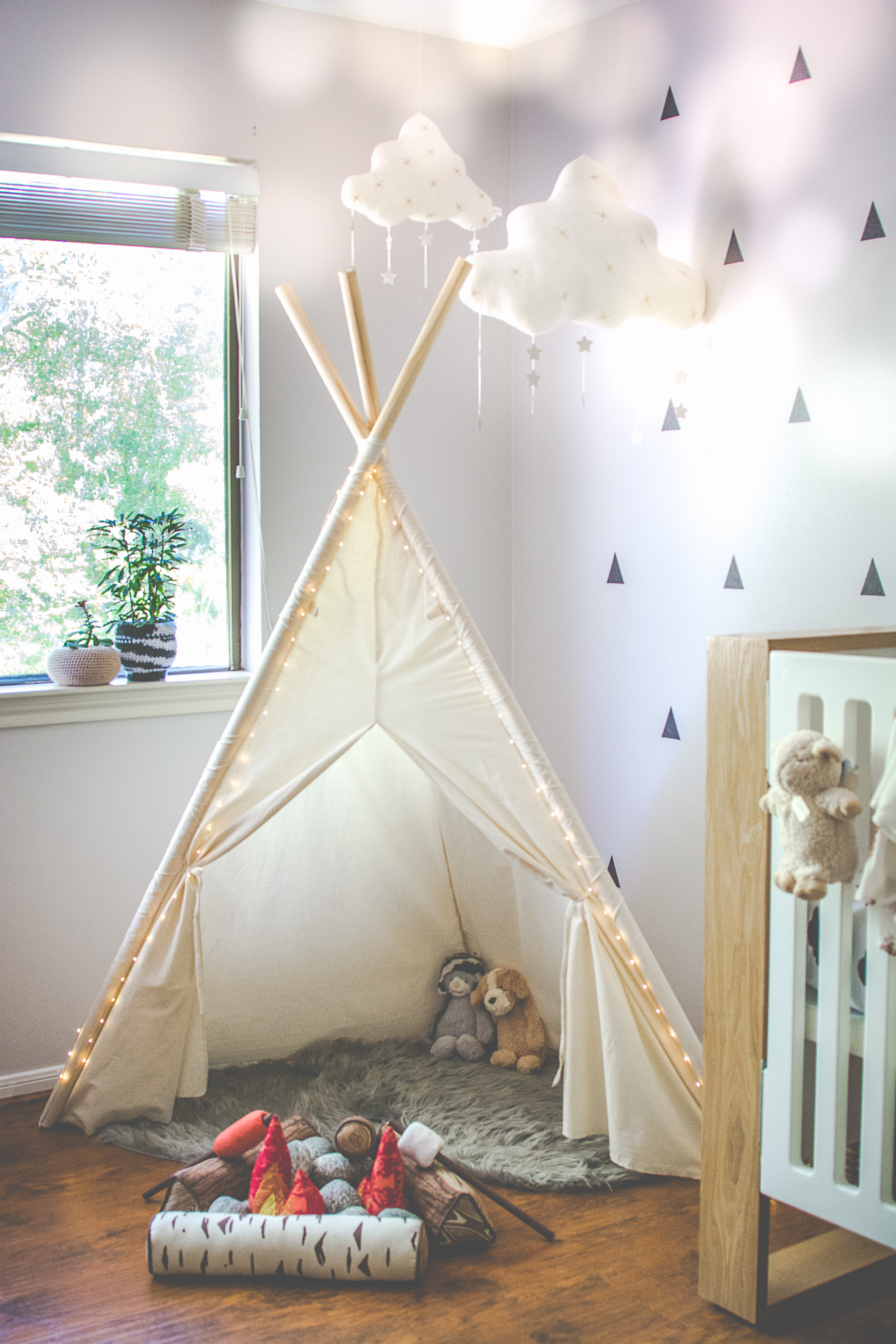 teepee nursery inspiration