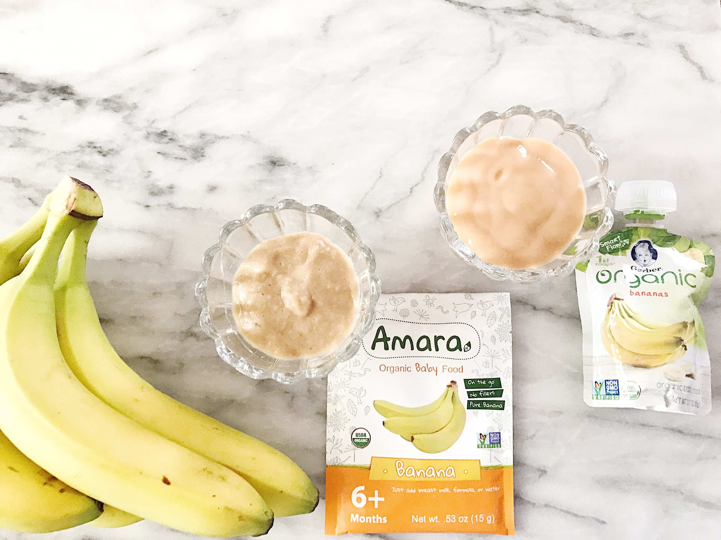 Organic Baby Food Comparison and Taste Test