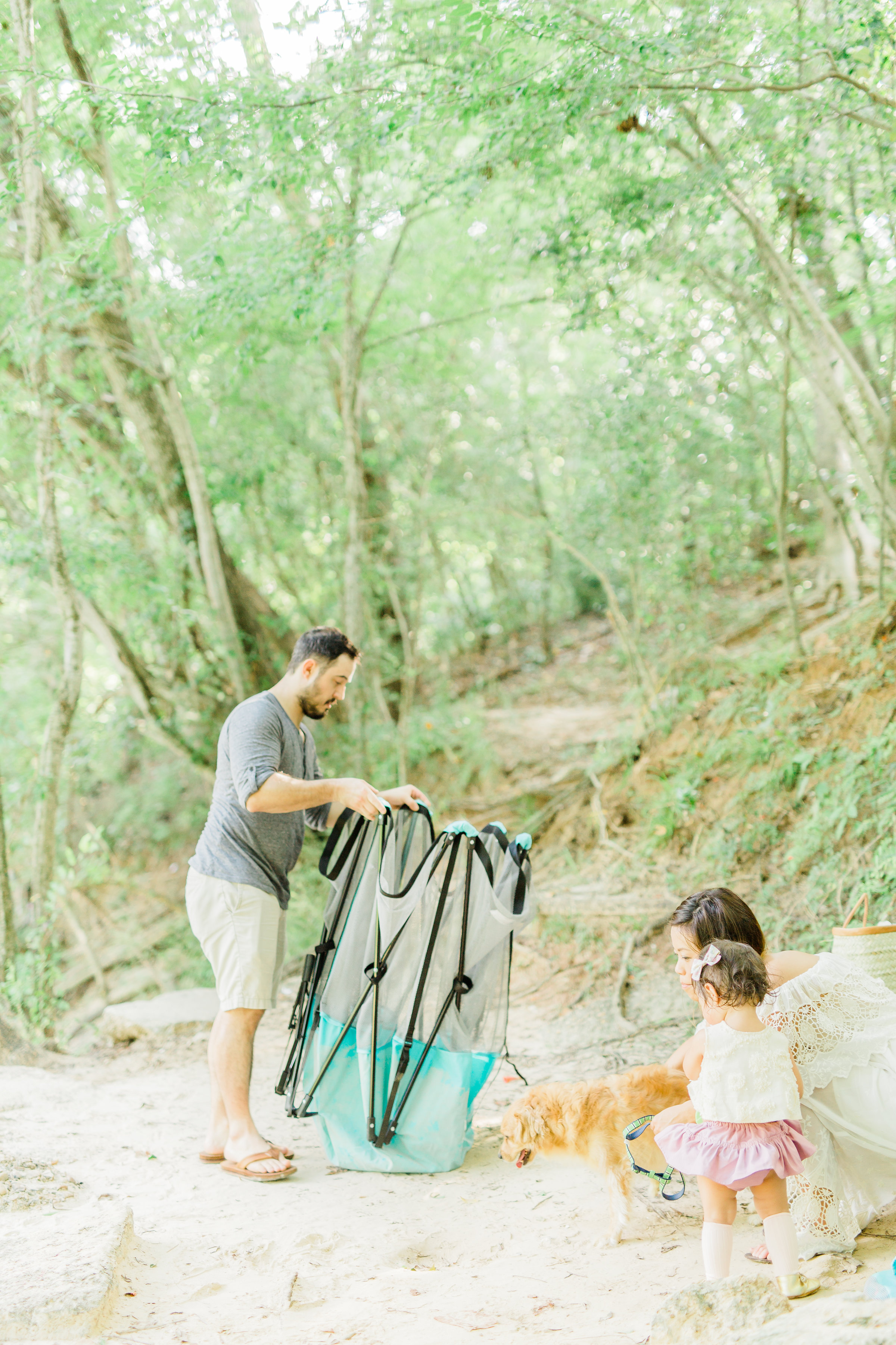 Riverside family picnic hack styled shoot regalo baby safety gate